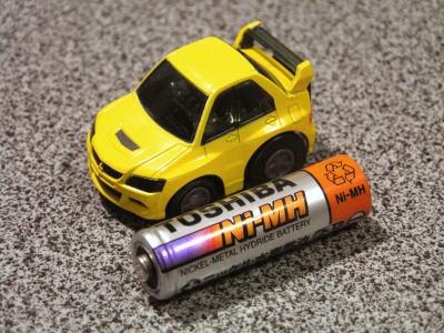 キューステア (Q STEER) 単三乾電池との比較