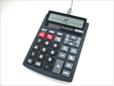 ELECOM テンキー電卓