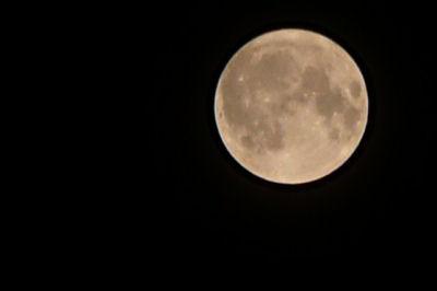 LUMIX DMC-TZ3 満月 ズーム 撮影
