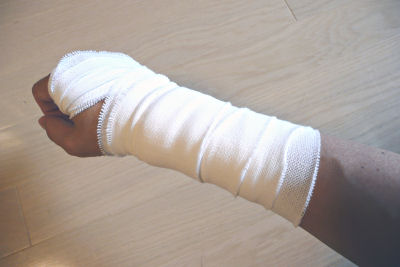 手首 包帯