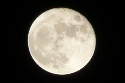 月 Moon Panasonic DMC-TZ3