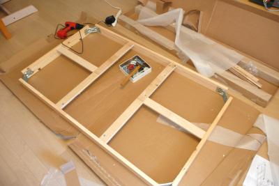 IKEA ダイニングテーブル BJURSTA 枠