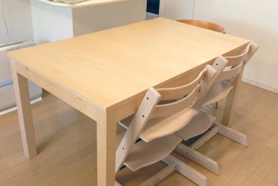 IKEA ダイニングテーブル BJURSTA 出来上がり