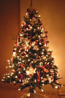 クリスマスツリー 電飾 LED