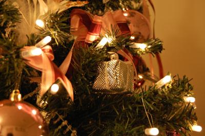 クリスマスツリー 電飾 LED クローズアップ