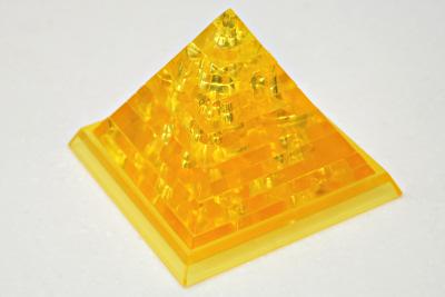 クリスタルパズル ピラミッド 完成