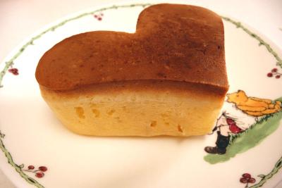ハート ホットケーキ
