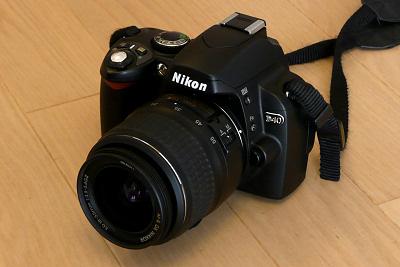NIKON D40 18-55mm F3.5-5.6G II