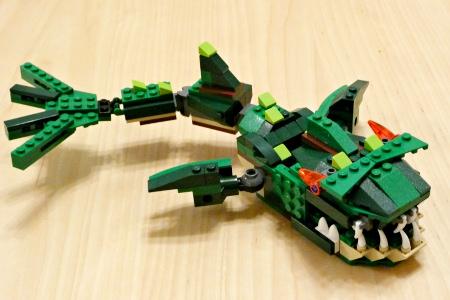 LEGO レゴ クリエイター ワニ 5868