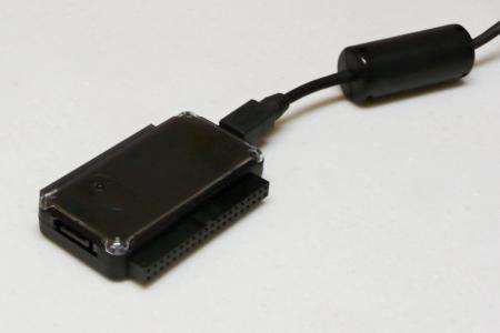サンワサプライ IDE/SATA-USB 変換ケーブル USB-CVIDE2