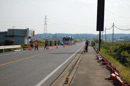 福島第一原発 20km 検問