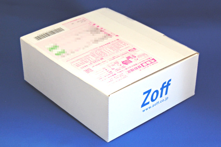 Zoff メガネ 箱