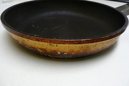 アサヒ軽金属 ニューディナーパン 側面 再加工前