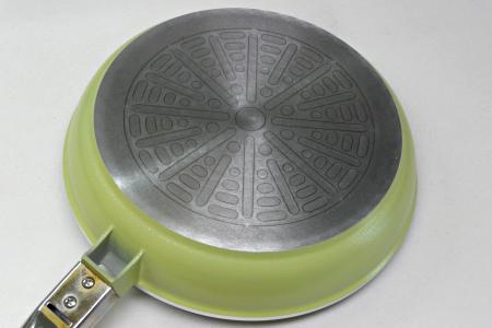 アサヒ軽金属 ニューディナーパン 底面 再加工前