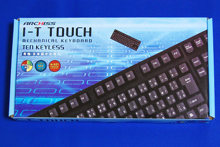 ARCHISS I-T Touch AS-KB91C 外箱