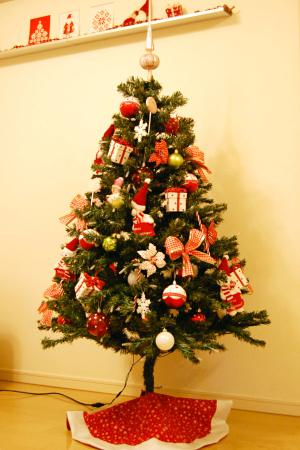 クリスマスツリー 全体図 2013年