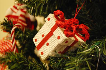 クリスマスツリー 箱 オーナメント