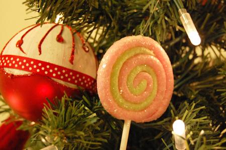 クリスマスツリー キャンディ オーナメント