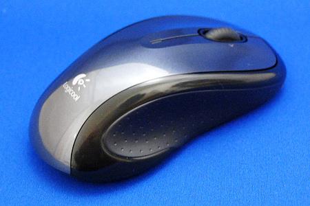 ロジクール M510 ワイヤレスマウス 右側面