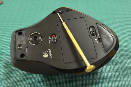 ロジクール マウス MX-1100 ソール はがす