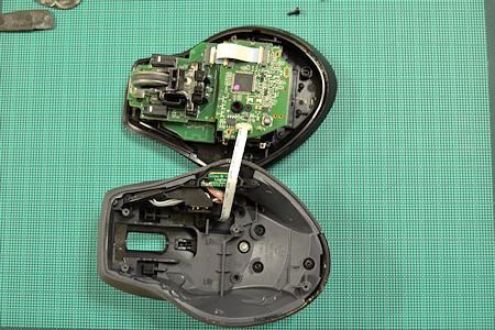 ロジクール マウス MX-1100 分解