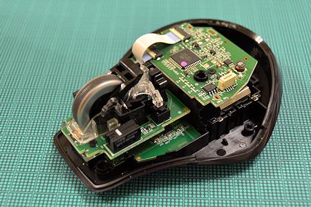 ロジクール マウス MX-1100 分解 全体図