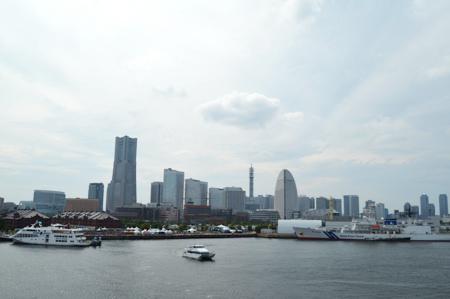 横浜港 写真 大さん橋 ランドマークタワー
