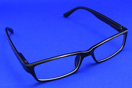 目を守る PC眼鏡 開いたところ
