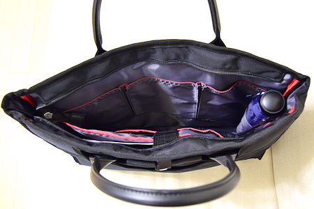 サンワサプライ 横型 PC バッグ 200-BAG049 中身