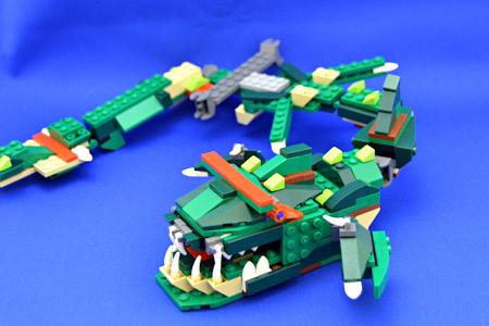 レゴ クリエイター ワニ 深海魚 全体図
