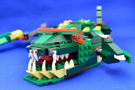 レゴ クリエイター ワニ 深海魚