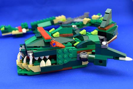 レゴ クリエイター ワニ 深海魚 横顔