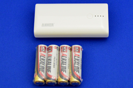 ANKER Astro M1 単三乾電池 比較