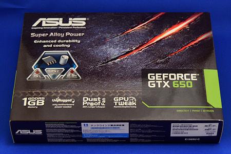 GTX650-E-1GD5 箱 ASUS GeForce GTX 650