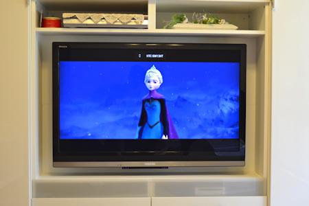 Chromecast アナと雪の女王