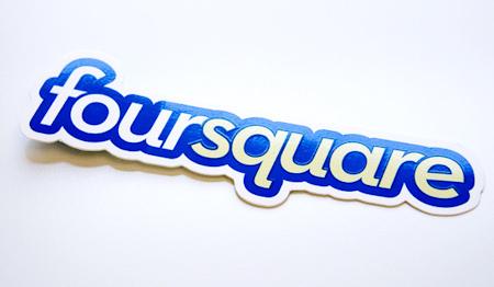 foursquare ロゴ