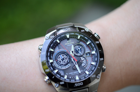 CASIO EDIFICE ニコン D5100 DX 40mm F2.8